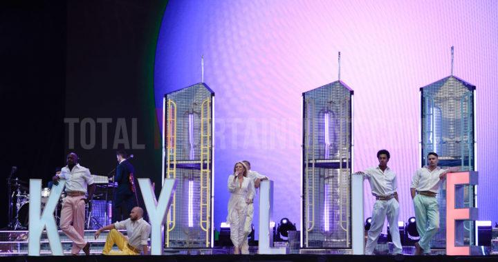 Kylie Minogue Hosts Massive Pop Party in Lytham
