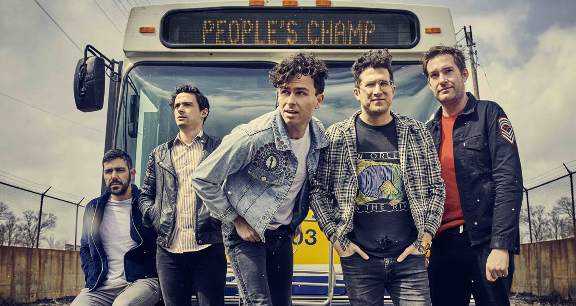 Arkells speak to TotalNtertainment at the Belgrave Music Hall in Leeds