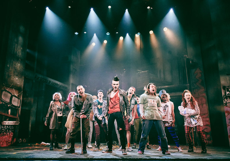 American Idiot, Green Day, TotalNtertainment, Musical, Theatre, Review, Gillian Potter-Merrigan