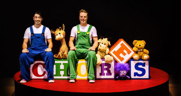 Acrobatic Family Comedy Show Chores Comes To Storyhouse