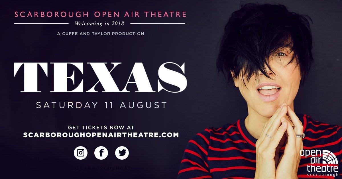 Ten Millennia to open show for Texas at Scarborough