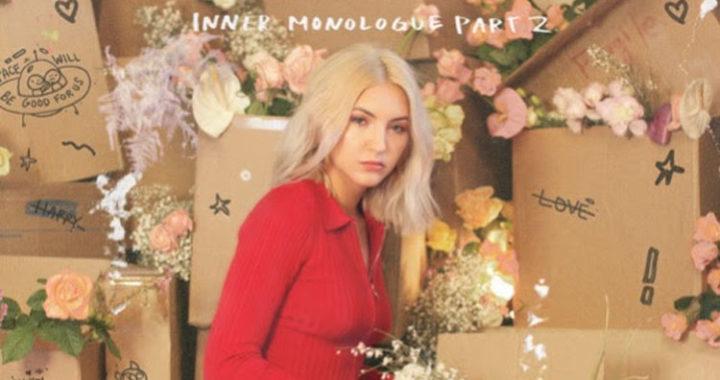 JULIA MICHAELS announces 'Inner Monologue Part 2'