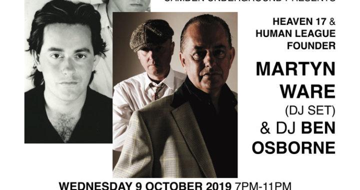 Camden Underground presents … Martyn Ware