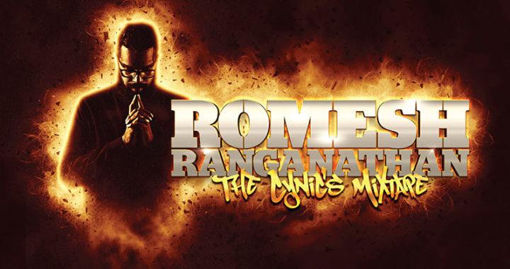 Romesh Ranganathan brings is 'The Cynic's Mixtape'on tour