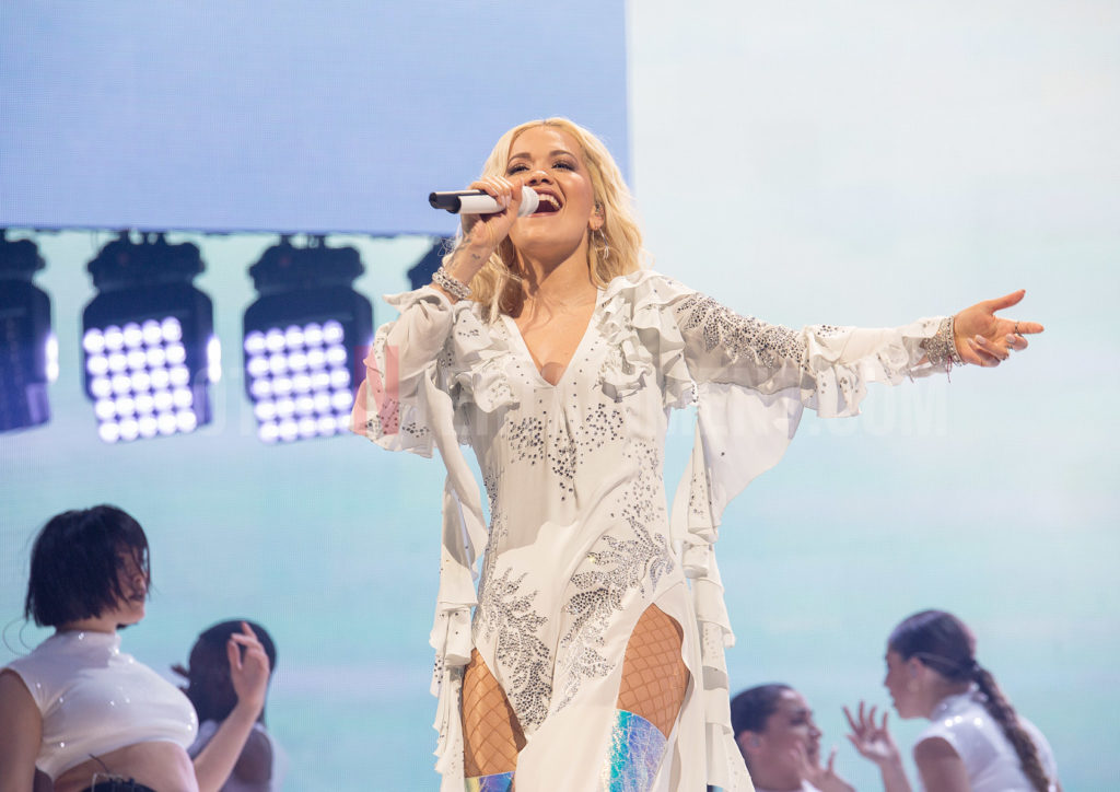 Rita Ora Brings Some Pop Glitz And Glamour To Liverpool S