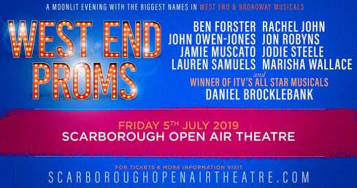 Coronation Street star Daniel Brocklebank is joining the line-up for West End Proms