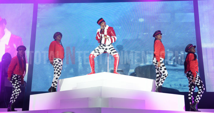 R'n'B star Janelle Monáe puts on colourful display at Castlefield Bowl