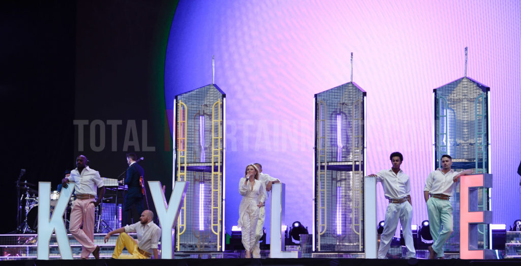 Kylie Minogue, Lytham Festival, Music, TotalNtertainment, Review, Stephen Farrell
