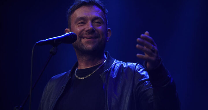 Damon Albarn performs live in Manchester