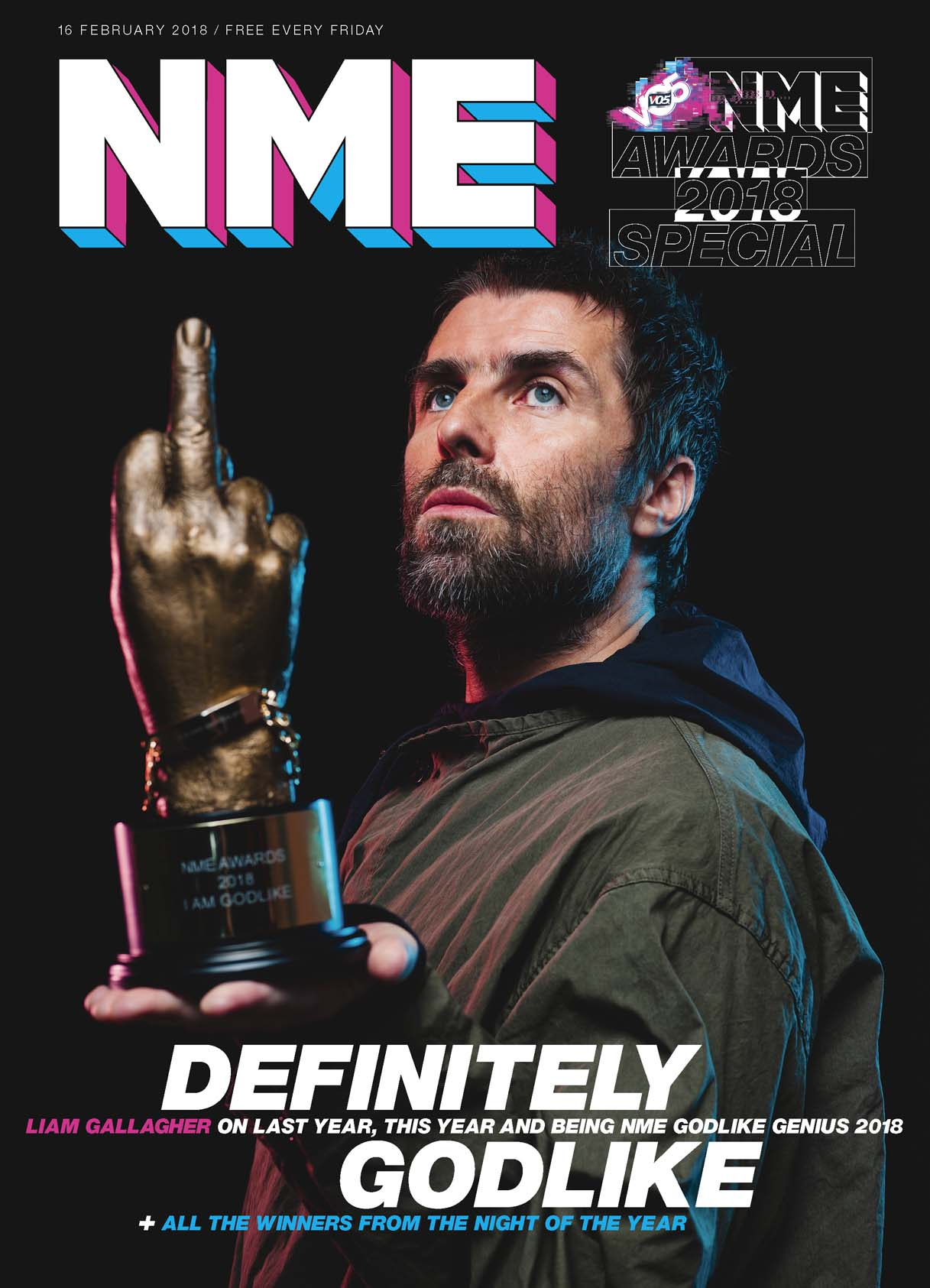Liam Gallagher, NME, music, Manchester, awards