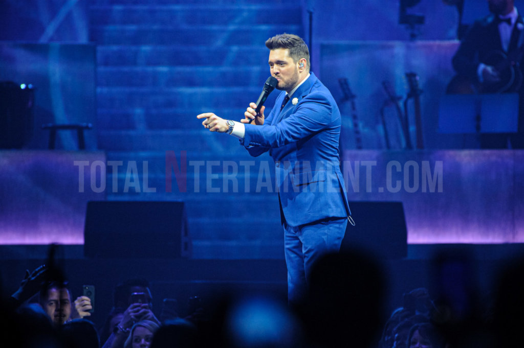 Michael Bublé, Music, Liverpool, TotalNtertainment, Paul Warburton, Review
