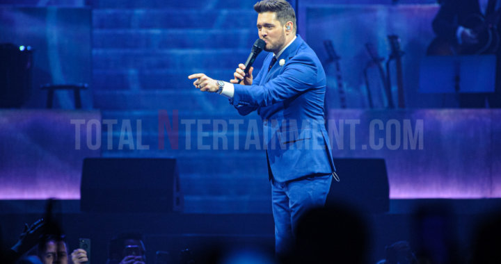 Michael Bublé swings his way into Liverpool
