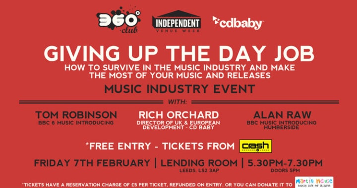 Giving Up The Day Job – Surviving The Music Industry