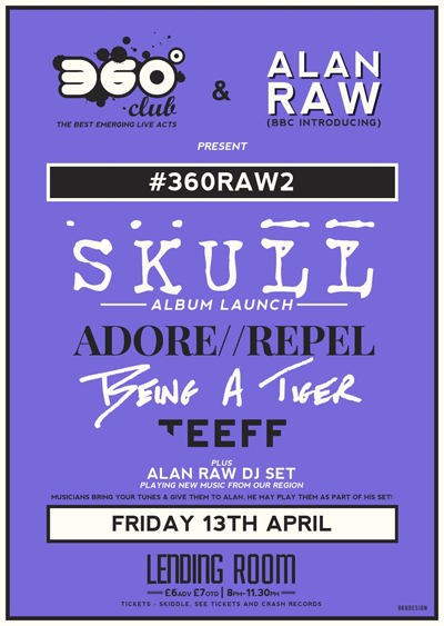 #360RAW, Leeds, new music, club, totalntertainment
