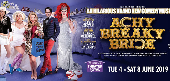 Brand New Comedy Musical Achy Breaky Bride Comes To St Helens