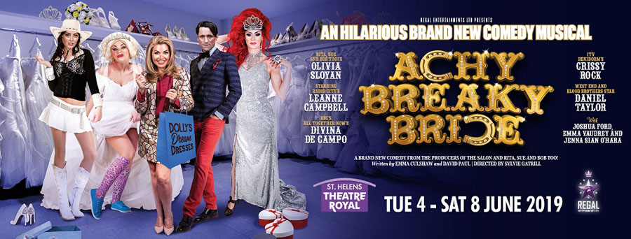 Achy Breaky Bride, Musical, Theatre, Liverpool, TotalNtertainment