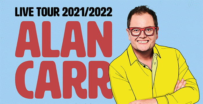 'Regional Trinket' – the brand new tour from Alan Carr