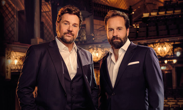 Alfie Boe, Michael Ball, Music, Tour, Leeds, TotalNtertainment