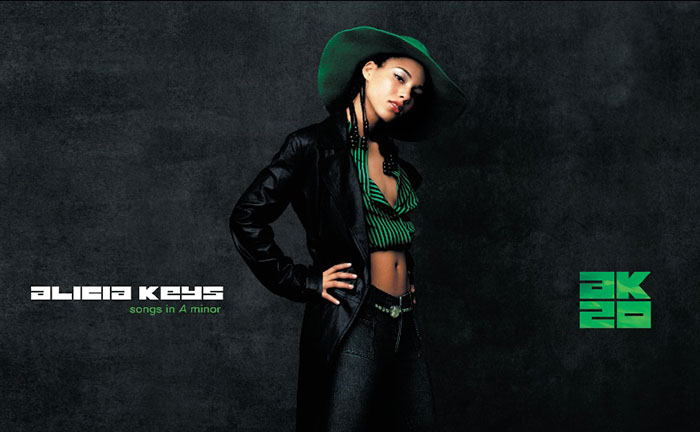 Alicia Keyes, Songs In A Minor, Music, 20 Years TotalNtertainment