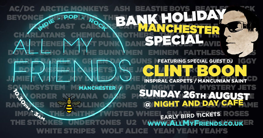 All My Friends, TotalNtertainment, Clint Boon, Absolute Radio