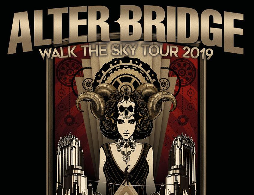 Alter Bridge, Music, Tour, TotalNtertainment, Manchester
