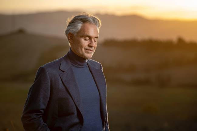 Andrea Bocelli, Music, New Album, Believe, TotalNtertainment
