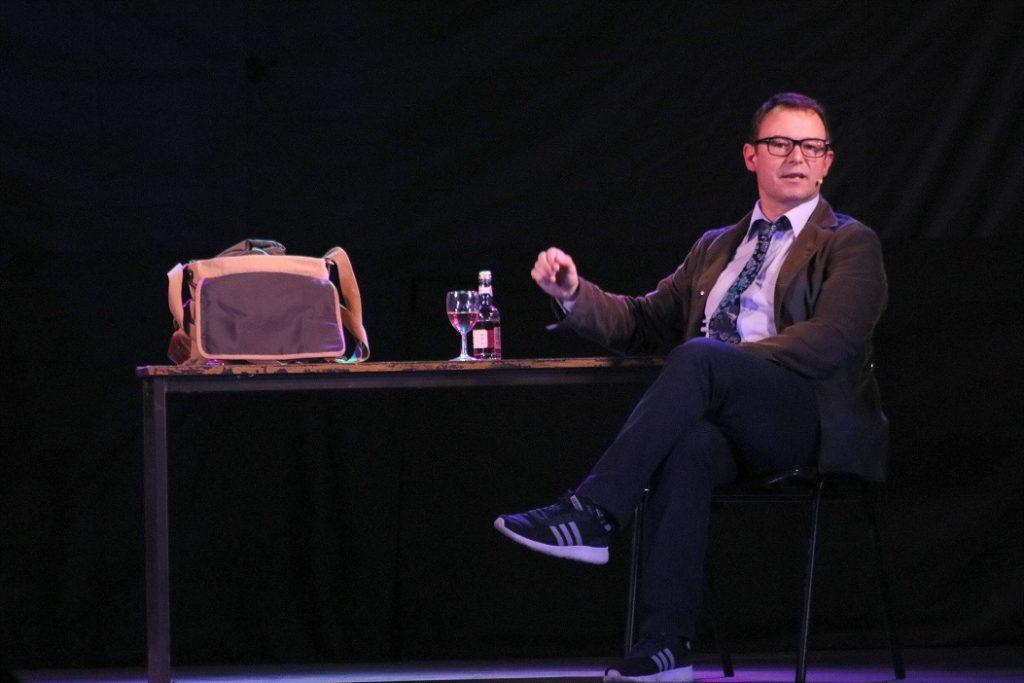 Andrew Lancel, Theatre, Comedy, Liverpool, TotalNtertainment, Swan Song