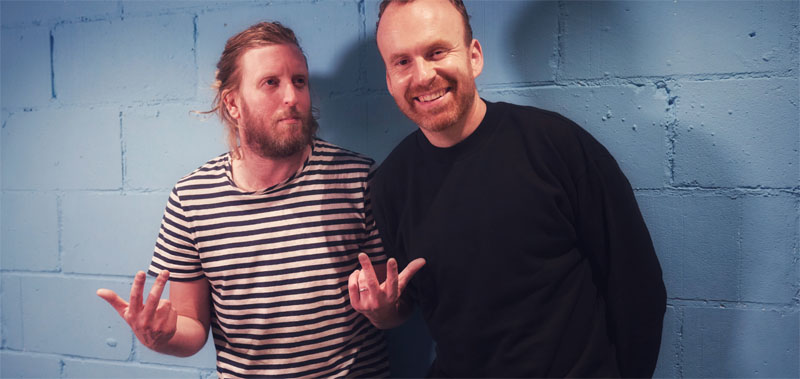 Andy Burrows, Matt Haig, Tour, New Album, TotalNtertainment