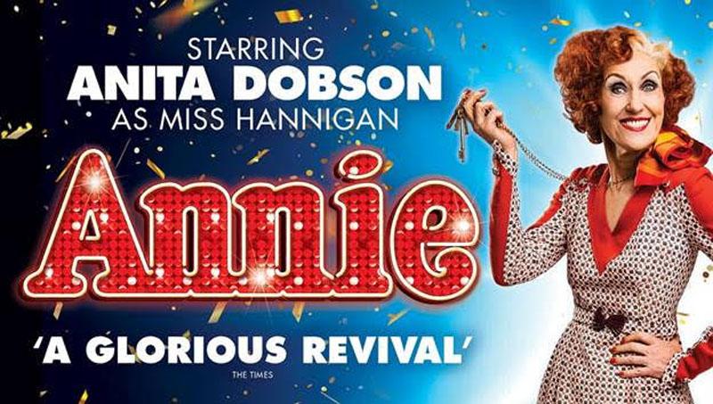Annie, Anita Dobson, Tour, Musical, TotalNtertainment