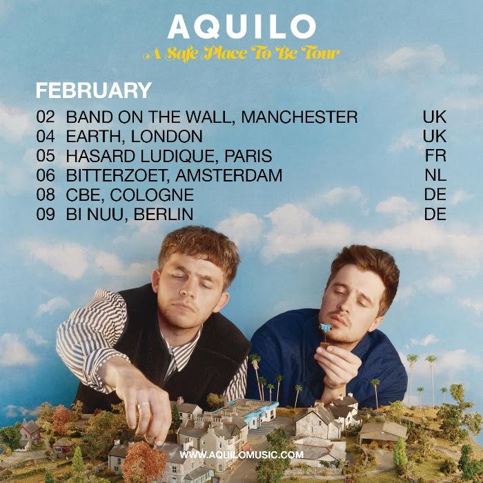 Aquilo, Tour News, Music News, New Single, TotalNtertainment,