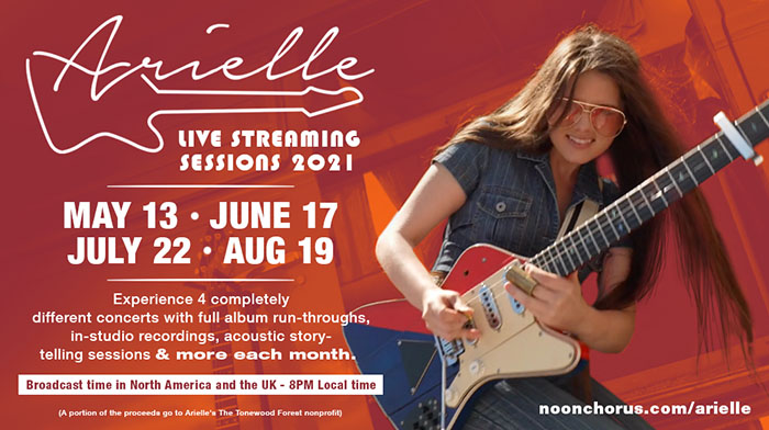 Arielle, Music, Live Stream, TotalNtertainment, Inside and Outside