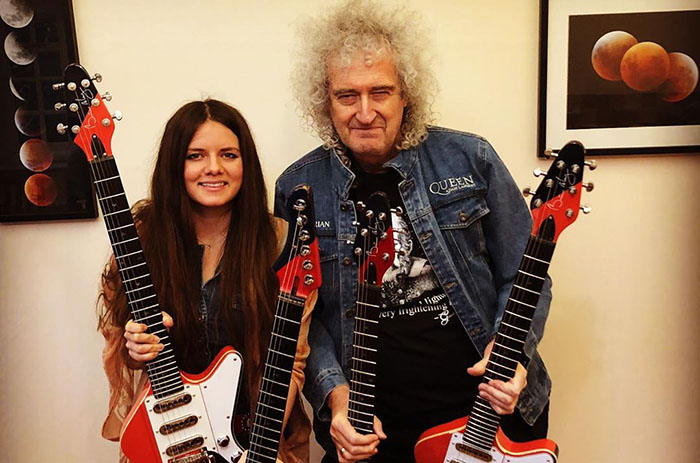 Arielle, Brian May, Music, New Release, Analog Girl In A Digital World