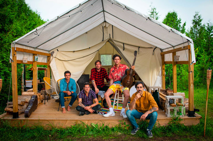 Arkells, Music, New Single, Campfire Chords, TotalNtertainment
