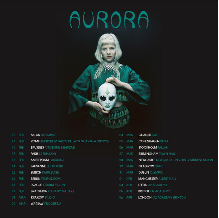 Aurora, Cure For Me, Music, New Single, Tour, TotalNtertainment