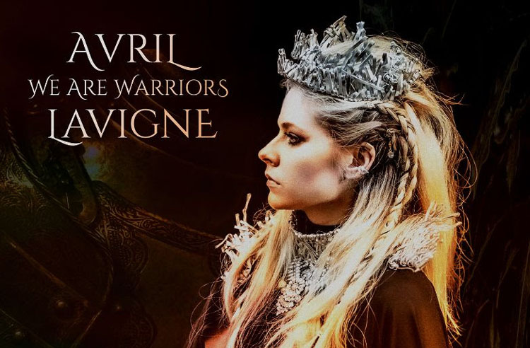 Avril Lavigne releases We Are Warriors