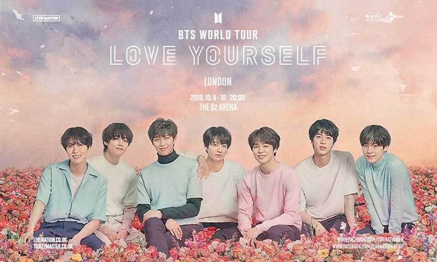 BTS, Love Yourself, World Tour, TotalNtertainment, London, Music