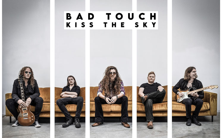 Bad Touch, Kiss The Sky, New Album, Music, TotalNtertainment, Norfolk Rockers