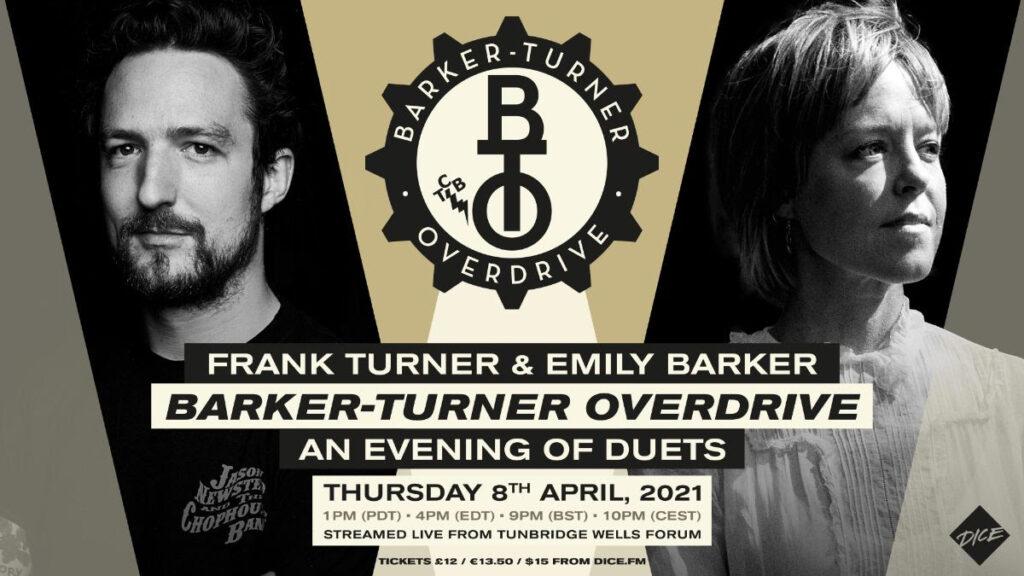Emily Barker, Frank Turner, Barker Turner Live Stream, TotalNtertainment