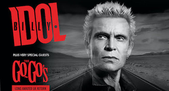 Billy Idol announces 'The Roadside' tour 2022