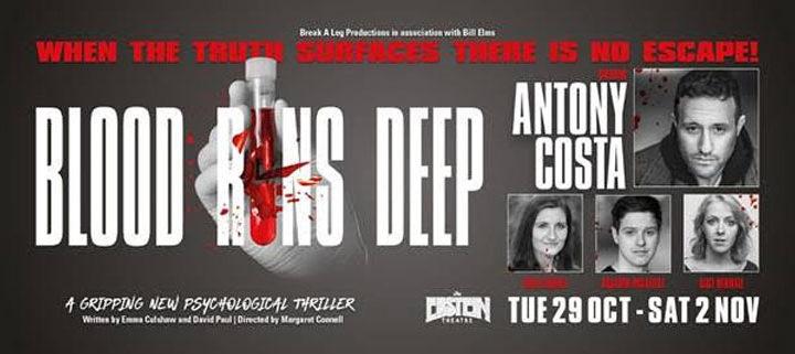 Antony Costa To Star In Blood Runs Deep