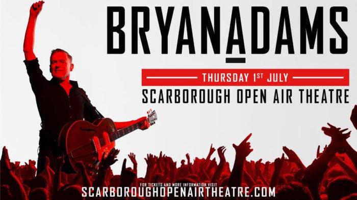 Bryan Adams, Music, Tour, Scarborough, TotalNtertainment