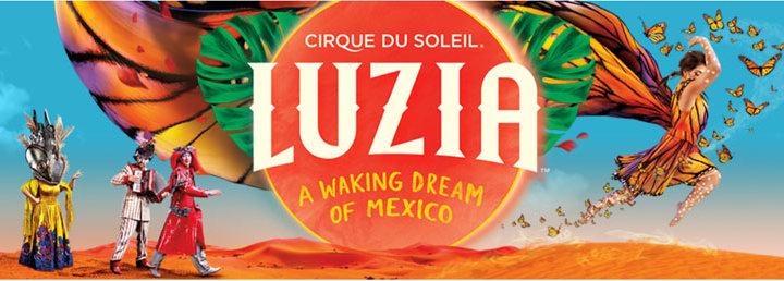 One Week to go until Cirque Du Soleil – Luzia debuts in London