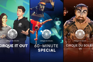 Cirque Du Soleil free online content Live at 8pm today