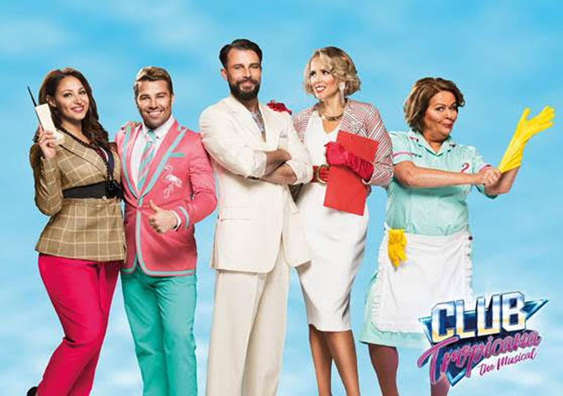 Club Tropicana, Musical, 80's, Theatre, TotalNtertainment, York