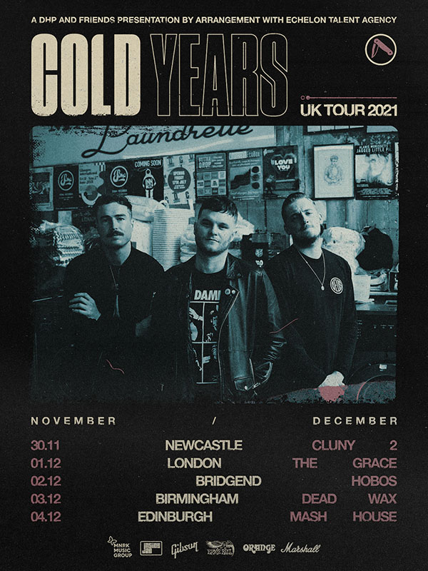 Cold Years, Music News, Tour News, TotalNtertainment,