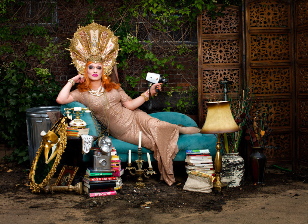 Ginger Snapped, Jinkx Monson, Drag Queen, Interview, Graham Finney, Theatre