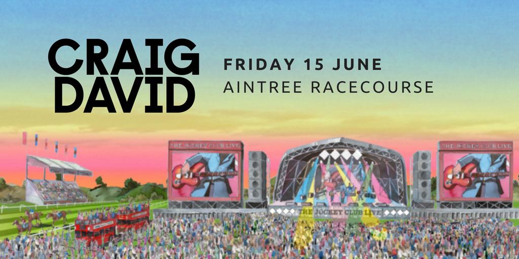 Craig David, Aintree Racecourse, Live Event, totalntertainment, Music