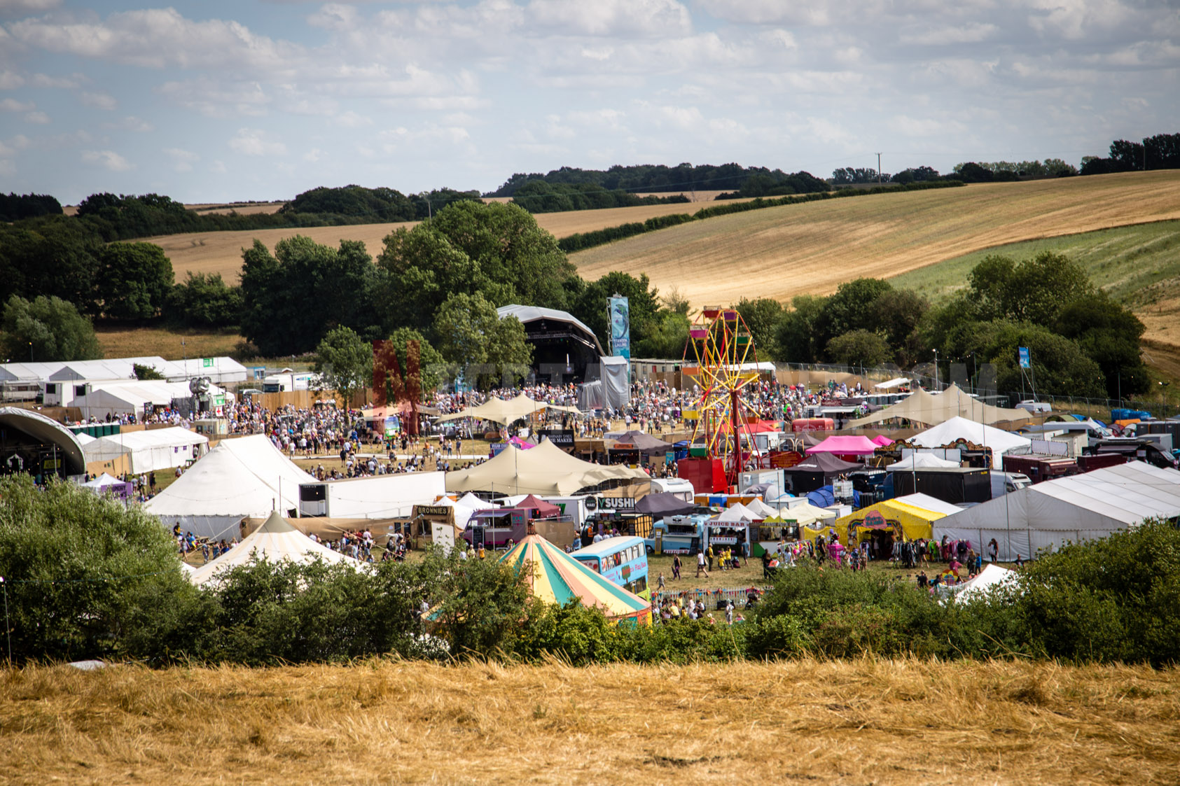 Standon Calling Festival is a huge hit despite stormy weather