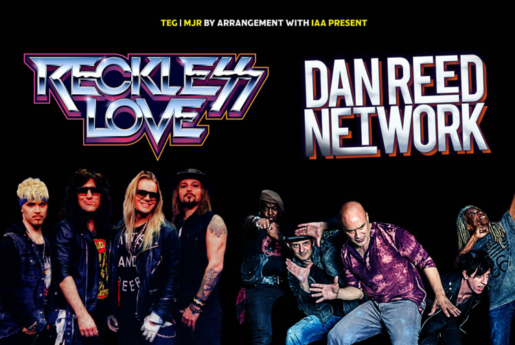 Dan Reed Network, Reckless Love, Your, TotalNtertainment, Leeds