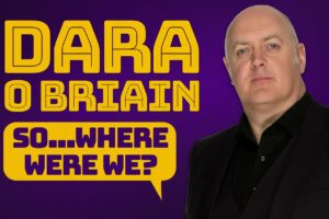Dara O'Briain announces new tour for 2022